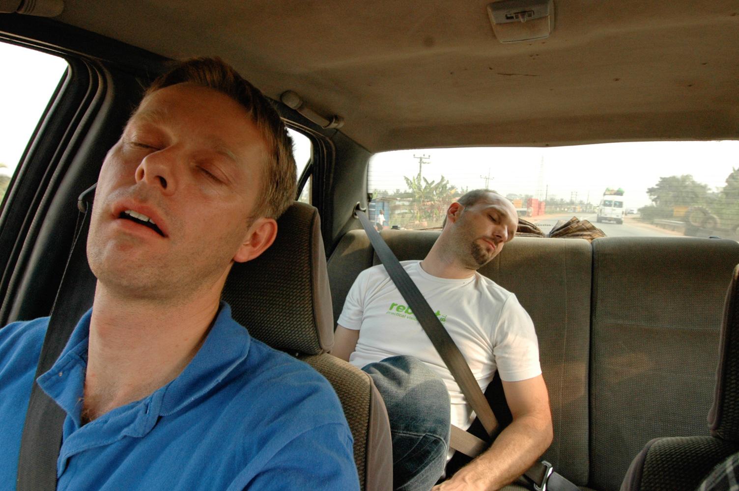 Im Taxi von Ghana nach Burkina Faso