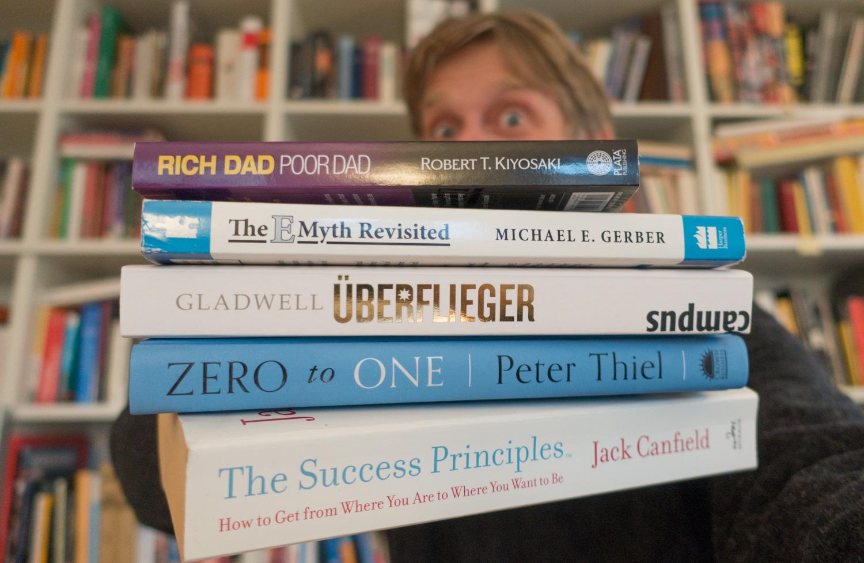 Die 5 wichtigsten Bücher in meiner Bibliothek
